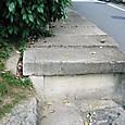 仁和寺脇の水路