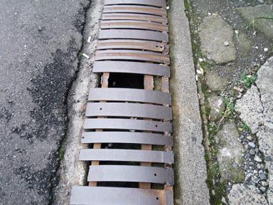 松本市の側溝