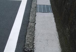 今井川近辺の側溝