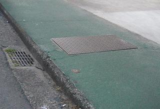 江戸川近辺の用水路