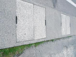 盛岡市内の側溝