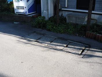 田名の用水路